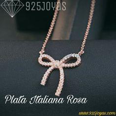 Plata Italiana Rosada S925