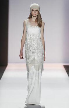 BCBGMAXAZRIA Fall 2013 Runway: Elise Beaded Dress.