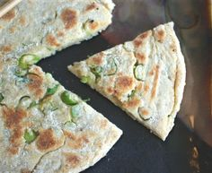 Had these Gluten-Free Chinese Scallion Pancakes with dinner last night. So easy, and SO satisfying! Vegan, too.