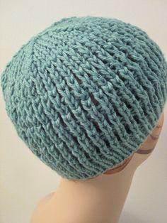 Balls to the Walls Knits: Slip-Stitch Mesh Hat free pattern