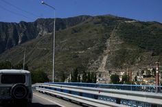 Kabardino-Balkaria... the way to Elbrus in Baksan Gorge. City (once the tungsten-molybdenum) Tyrnyauz. ======================= Баксанское ущелье.  Город (когда-то вольфрамо-молибденовый) Тырныауз.