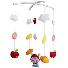 Exquisite Gift for Baby Girls [Crib Decoration] Decorative Crib Mobile Exquisite Gift for Baby Girls Up Music, Light Music, Girl Cribs, Baby Cribs, Lit Songs, Crib Decoration, Baby Calm, Baby Crib Mobile, Baby Girl Gifts