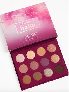 Colourpop You Had Me at Hello Eyeshadow Palette #colourpop #eyeshadow #eyeshadowpalette