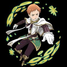King from the seven deadly sins (nanatsu no taizai)