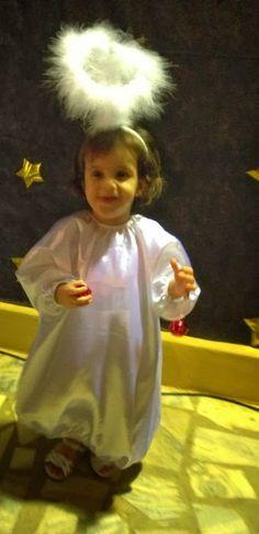 """Algumas inspirações ...             Ah... esta é minha alegria plena!   Isabella de """"Anjinha"""" em sua primeira festinha natalina no Berça..."""