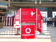 Mall Activation for Vodafone. Know about our range of Brand Activation solutions at http://www.expodisplayservice.ae/