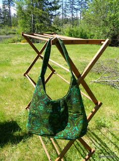 Vintage Upcycled Fabric Shoulder Bag by RustIsVogue on Etsy, $25.00