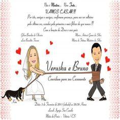 Resultado de imagem para convites de casamento
