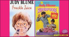 My cousin and I read superfudge books and there was also another... Ramona Quimbly I believe..