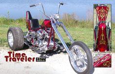 77 shovel head chopper trike with frankenstein trike kit