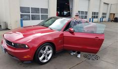 Caitlin, we're so excited for all the places you'll go in your 2010 FORD MUSTANG!  Safe travels and best wishes on behalf of Landmark Ford and David Mcmeen.