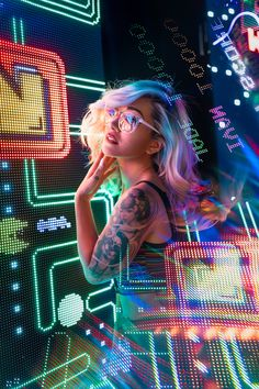 @ivvnwong Portraits — Ivan Wong Neon Photography, Portrait Photography Poses, Photography Women, Creative Photography, Cool Girl Pictures, Girl Photos, Cyberpunk Girl, Edm Girls, Digital Art Girl