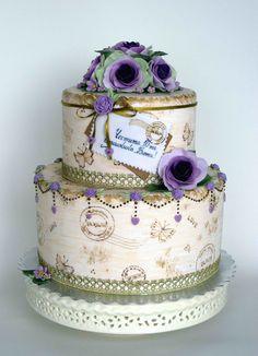 Happy 10th anniversary, my Beauty! A surprise cake from Ivo to his wife Tony.  Историята може да прочетете в блога на  bubolinkata.blogspot.com/2012/05/blog-post_23.html