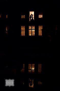 Balcony evening kiss @ Graydon hall, toronto