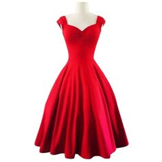 Reversible Solid Color Ball Gown Dress (105465 PYG) ❤ liked on Polyvore featuring dresses, gowns, red dress, red gown, red ball gown, reversible dress and red evening dresses