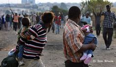 Thousands Of Foreigners Take Refuge In Police Stations For Xenophobia Attacks In South Africa