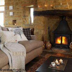 Warm and cosy, rich textures and luxurious fabrics can make a room feel warm and welcoming