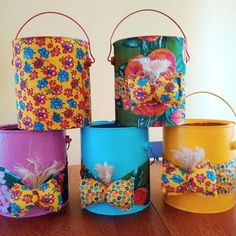 Festa Junina ornaments with recyclable materials: Footsteps Photos Diy Room Decor, Art Decor, How To Make Popcorn, Aluminum Cans, Pet Bottle, Craft Bags, Birthday Decorations, Diy Projects To Try, Holiday Crafts