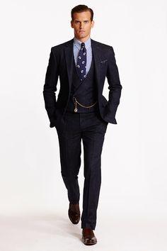 Ralph Lauren, Purple Label, Polo Ralph Lauren, Spring 2015, menswear, sportwear, sastrería, tailor, tailoring, Suits and Shirts,