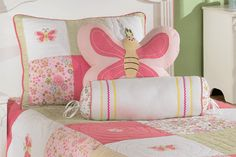 This childrens bedding set by Ashley furniture is an inexpensive way to add some style to any childs room!
