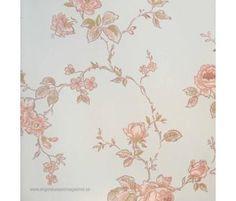 Lim och Handtryck Rosen (Engelska Tapetmagasinet)