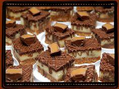 ROLO CHEESECAKE BARS....INSANELY DELISH!!!!!!!!!!! - Hugs and Cookies XOXO