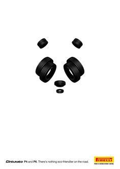 Pregnancia: Percibir como unidad aquellos elementos que presentan el mayor grado de simplicidad, simetría, regularidad y estabilidad. La pregnancia no importando cuanta información haga falta, intentará darle un sentido al Todo. En esta imagen, solo con algunos elementos simples, se puede reflejar el rostro de un oso panda.