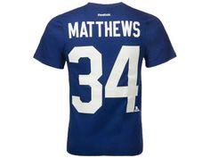f346a6c9ce3 Toronto Maple Leafs Auston Matthews Reebok NHL CN Youth Player T-Shirt Nhl  Store,