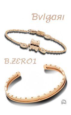 brilliant luxury by emmy de bvlgari bzero1 bracelets