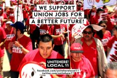 Union jobs for a better future!