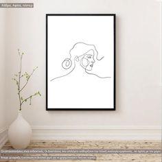 Eyes and figure VI, αφίσα, κάδρο Line Art, Poster, Home Decor, Decoration Home, Room Decor, Line Drawings, Home Interior Design, Billboard, Home Decoration