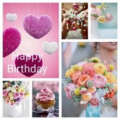 Birthday Wishes For Her, Birthday Wishes Greetings, Happy Birthday Wishes Images, Birthday Congratulations, Happy Birthday Quotes, Birthday Cards, Birthday Collage, Happy B Day, Birthday Pictures