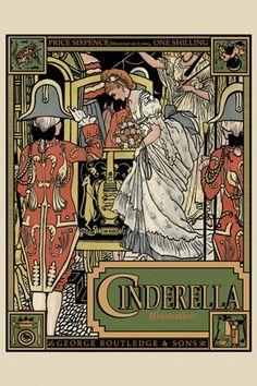Cinderella (book cover) Fine-Art Print