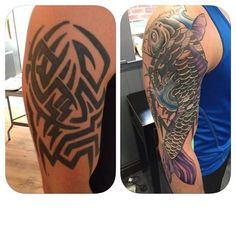 Great cover up by Nathan even over this terrible tribal