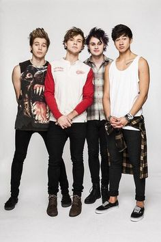 5SOS at a recent photoshoot