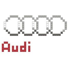 Audi Audi, Lego Worlds, Sanrio Characters, Graph Paper, Perler Beads, Cross Stitch Embroidery, Pixel Art, Patterns, Cross Stitch