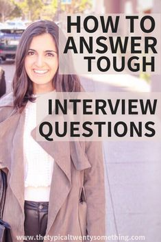How to answer tell me about yourself tough interview questions interview questions how to face interview questions how to handle interview questions job interview career advice interview advice the perfect way to answer tell me about yourself How To Face Interview, Top Interview Questions, Job Interview Tips, Job Interviews, Career Change, New Career, Career Advice, New Job, Career Path