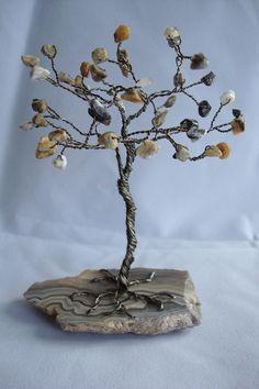 Gemstone Tree Wire Wrapped