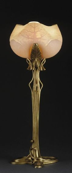 Table lamp, Louis Majorelle, c.1902-1904