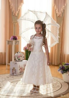 Cheap cap sleeve party dress, Buy Quality cap army directly from China cap sleeve evening dress Suppliers: Princess A-line Beading Sash 2015 Girls Ivory First Lace Holy Communion Dresses for Girls Vestidos de Comunion Vestido d