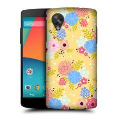 Head Case Whimsical Flowers Hard Back Case Cover for LG Google Nexus 5 D821 | eBay