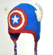 Resultado de imagen para hat crochet marvel heroes