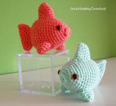 Fancy Goldfish Amigurumi By Kate Wood : Plus de 1000 idees ? propos de amigurumi fish sur ...