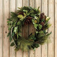 Pine & Magnolia Wreath