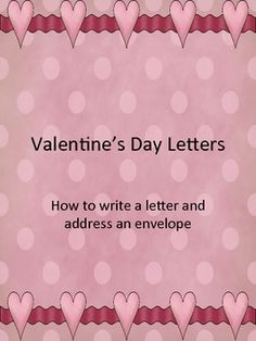 How to write a letter and address an envelope are skills that I have seen go to the wayside as texting and internet has taken a front seat. The oth...