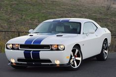I'm not usually a car person, but hot damn the new Dodge Challengers are beautiful. It's like an elegant muscle car.