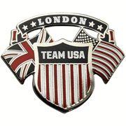 London's US Team Pin
