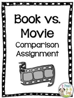 book and movie comparison essay