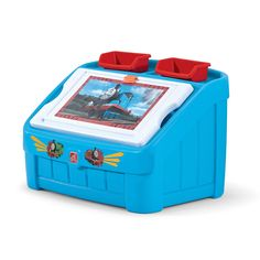 Thomas the Tank Engine 2-in-1 Toy Box & Art Lid by Step2 is one of most popular Toy Boxes products for children. View and shop now