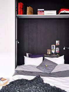 Hiding in a cupboard bed for small spaces | delikatissen